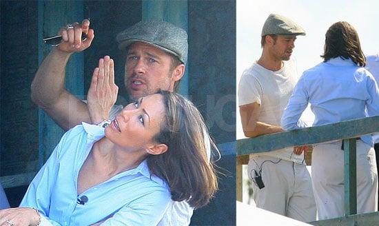 Brad Pitt Shows Ann Curry His Vision