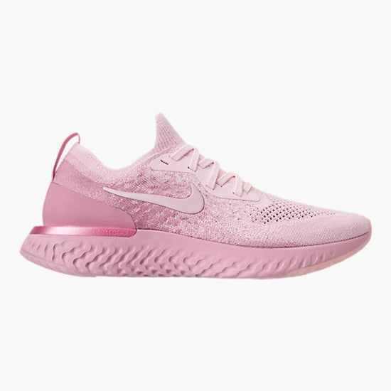 Pink Nike Epic React Flyknit Sneakers