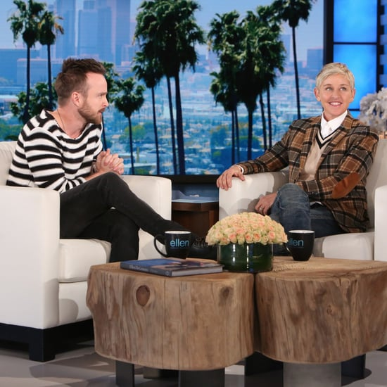 Aaron Paul on The Ellen DeGeneres Show January 2017