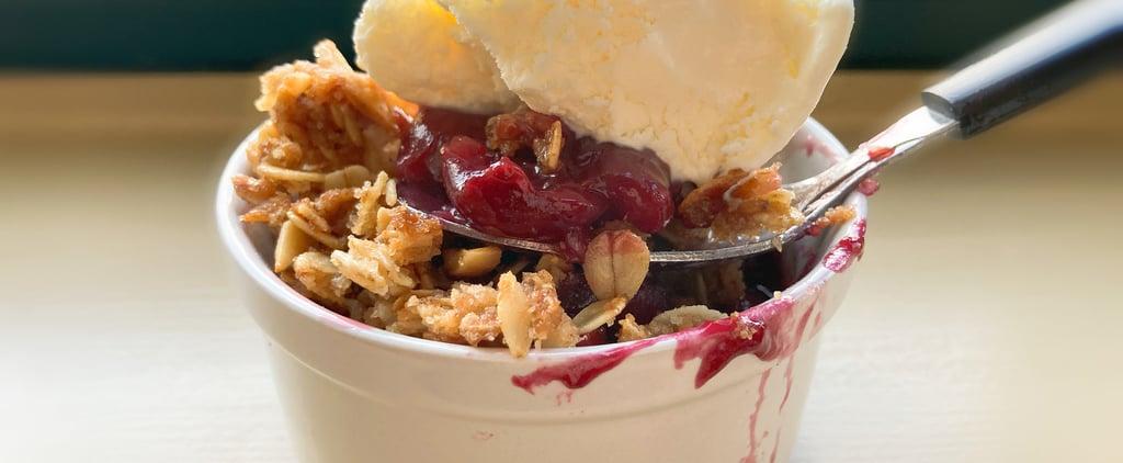 Joanna Gaines's Cherry-Almond Crisp Recipe and Photos