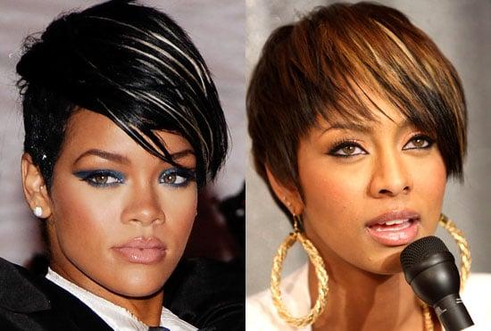 L Hairstyles For Short Hair: Rihanna Hair, Keri Hilson Hair