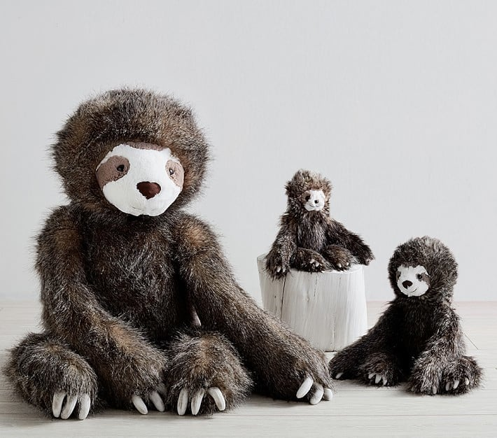 Pottery Barn Plush Sloth Gifts For Kids Who Love Animals