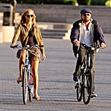 Leonardo DiCaprio and his Victoria's Secret Angel girlfriend, Erin Heatherton, spent time together in NYC.