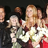 Matthew McConaughey, Diane Keaton, Gwyneth Paltrow and Andie MacDowell all picked up honours at the Golden Camera awards in Berlin.
