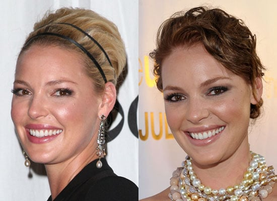 Photos of Katherine Heigl as a Brunette