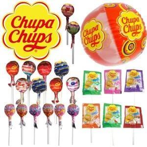 Chupa Chups Showbag ($5) Includes:  8 Original Chupa Chups  6 Chupa Chups Smoothies  Inflatable Beach Ball