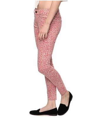 Divine Rights of Denim Leopard Skinny Jeans ($30)