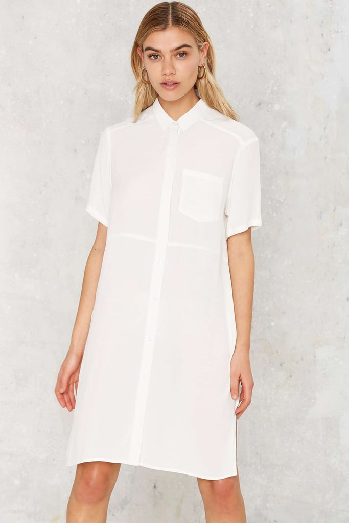 Nasty Gal Wash Over Me Shirt Dress ($68)