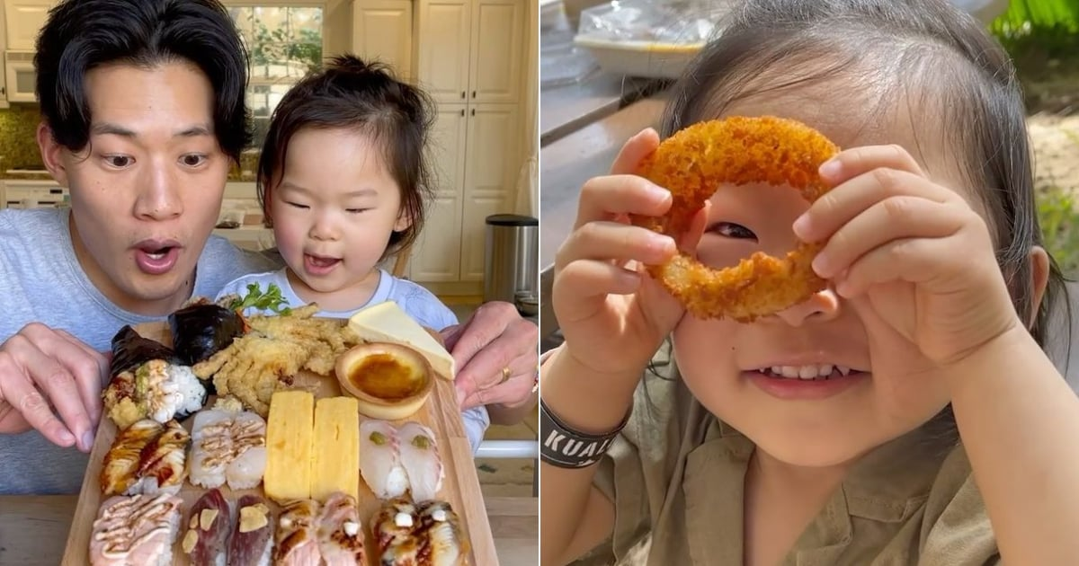 Picky Toddler? Try This Easy Tip From a TikTok Family Famous For Eating Food Together