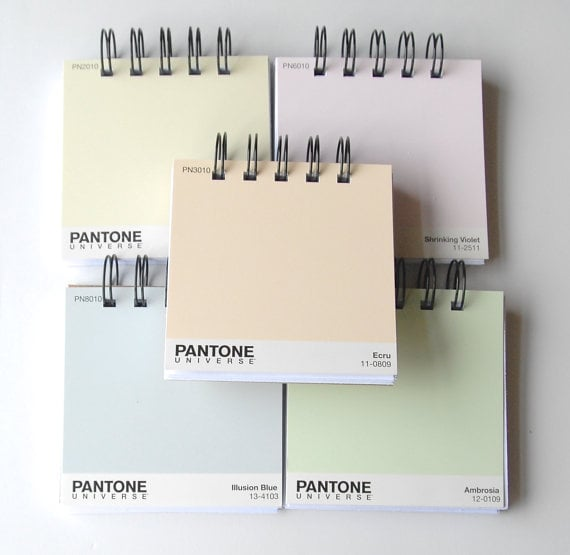 Paint Chip Notebooks
