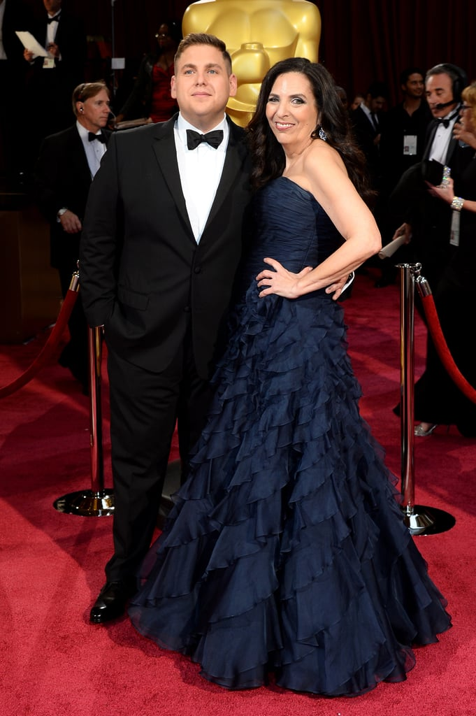 Jonah Hill was in good company at the Oscars —he brought his mom, Sharon, as his lovely date.
