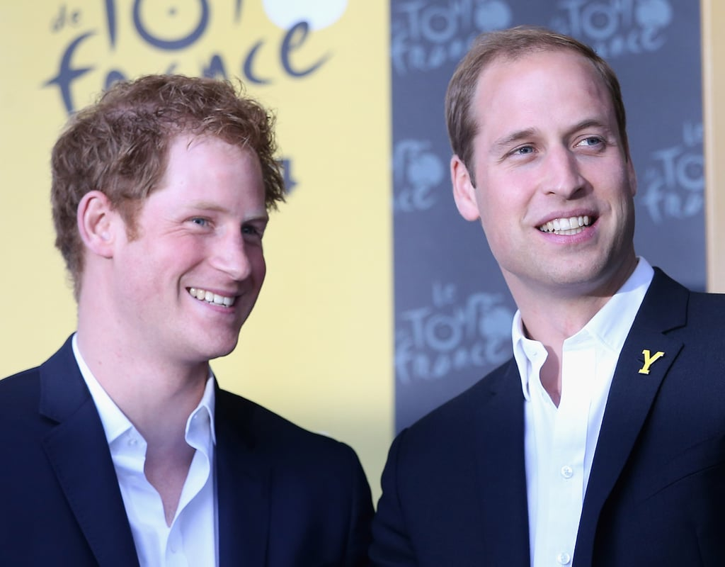 They attended the Tour De France together in July 2014.