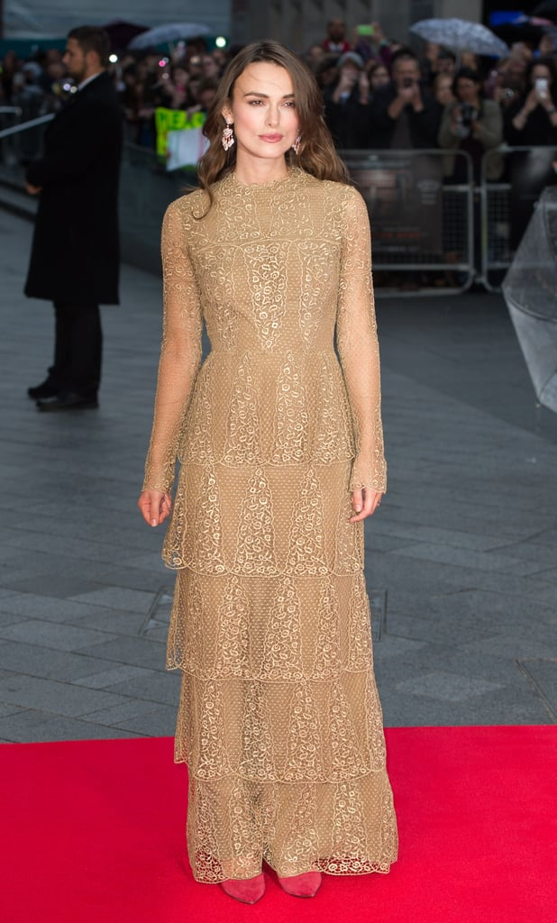 Keira Knightley at the  Opening Night Gala for The Imitation Game
