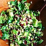 Brussels Sprouts Salad With Pomegranate, Walnuts, and Jalapeño