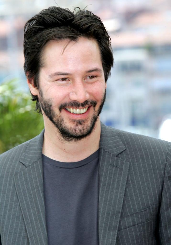 Pictures Of Keanu Reeves Smiling Popsugar Celebrity