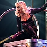 In March 2004, Britney's act got even hotter.