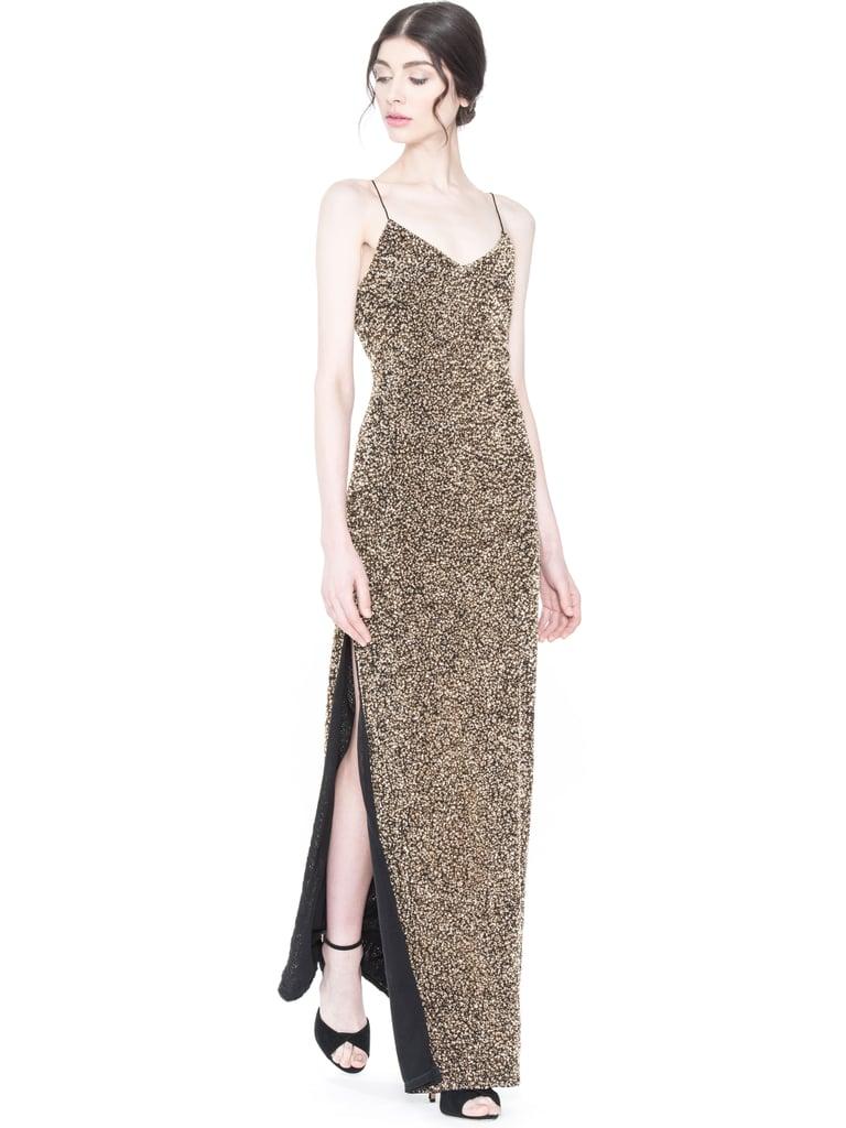 Alice + Olivia Stila Embellished Side Slit Gown | Best Party Dresses ...