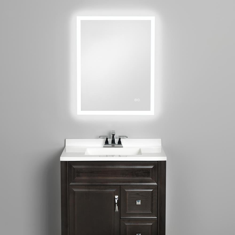 Home Netwerks LED Wall Mirror With Bluetooth Speakers