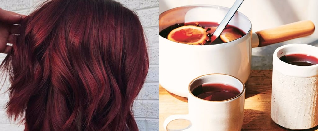 Mulled Wine Winter Hair Colour Trend 2019