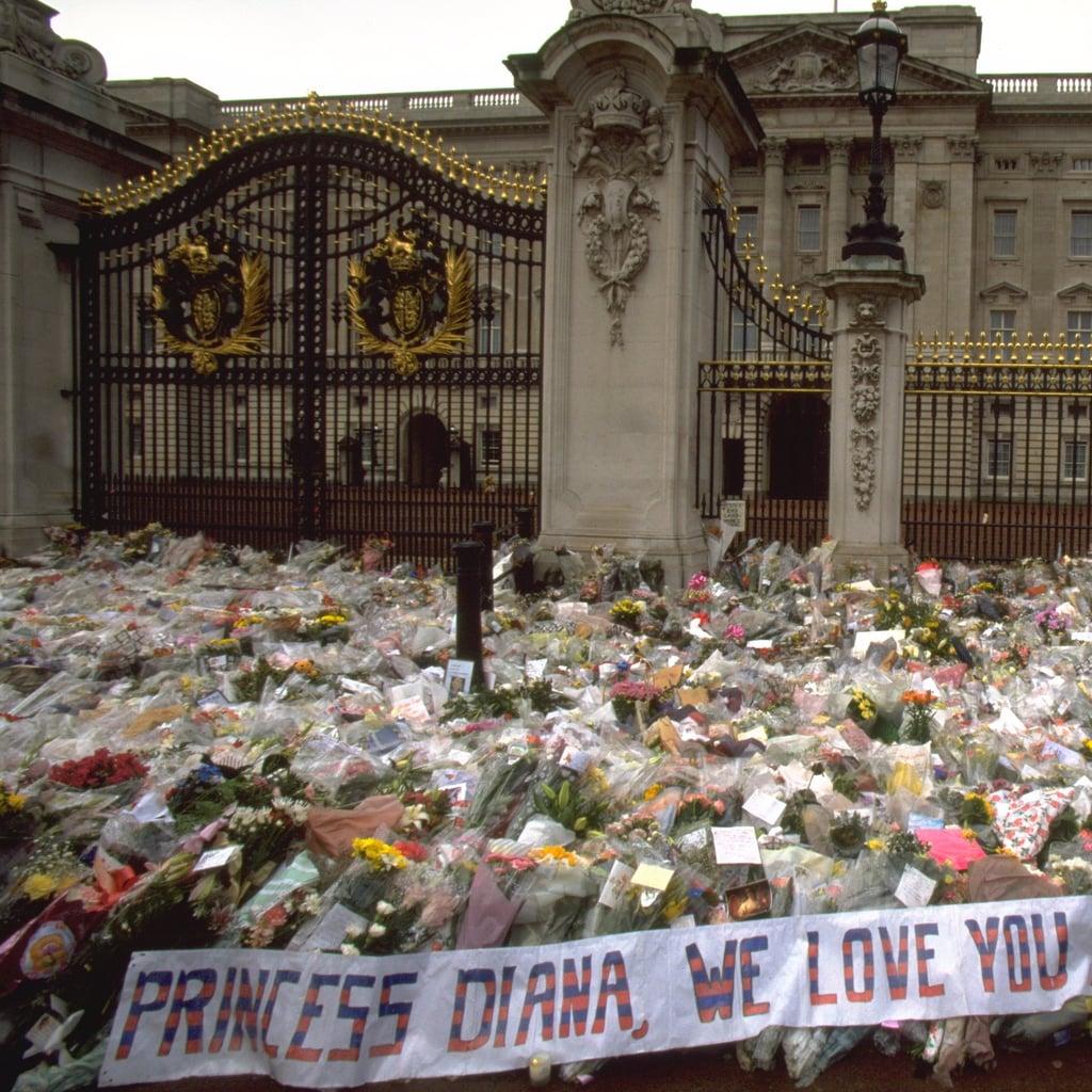 Princess Diana Public Funeral Pictures