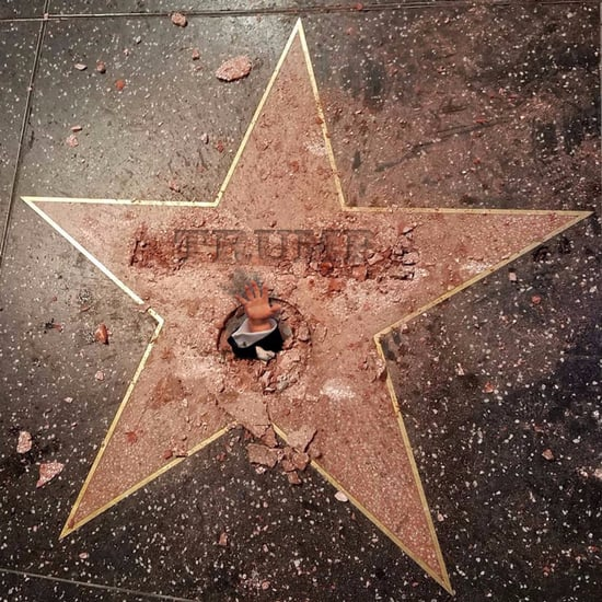 Donald Trump's Walk of Fame Star Vandalized