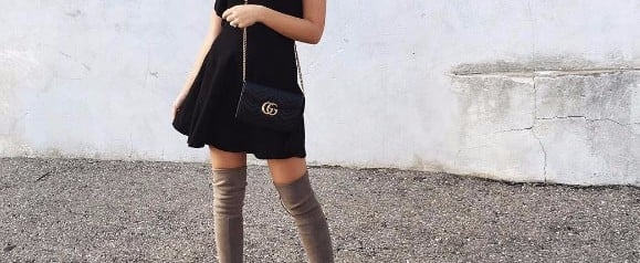 12 Chic, Easy and Effortless Ways to Wear Over The Knee Boots