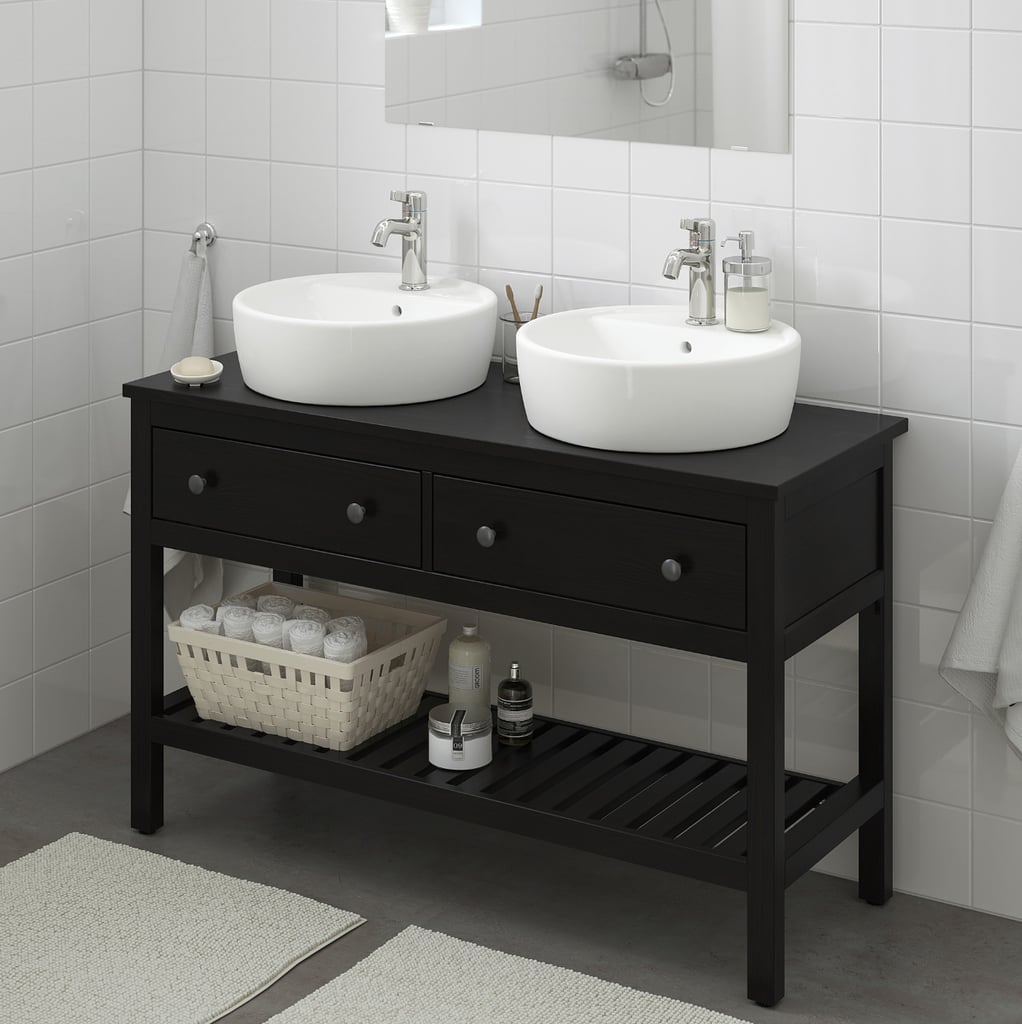 Hemnes Open Sink Cabinet With Drawers
