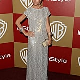 Rachel Zoe went for a shimmering look.
