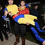 Ross Butler and Noah Centineo as Wolverine and Gaston