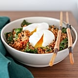 Cauliflower Fried Rice With Kale and Kimchi