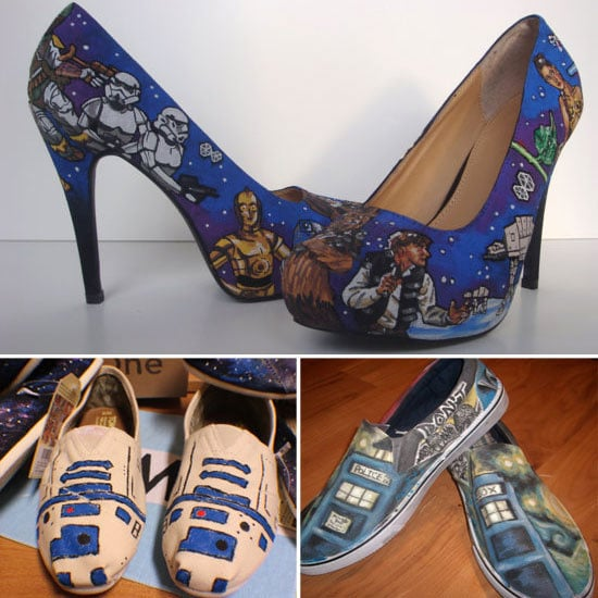 Star Wars Hand-Painted Shoes and Sneakers