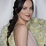 Dakota Johnson's Sexy, Messy Braid Is Your Valentine's Day Hair Inspiration