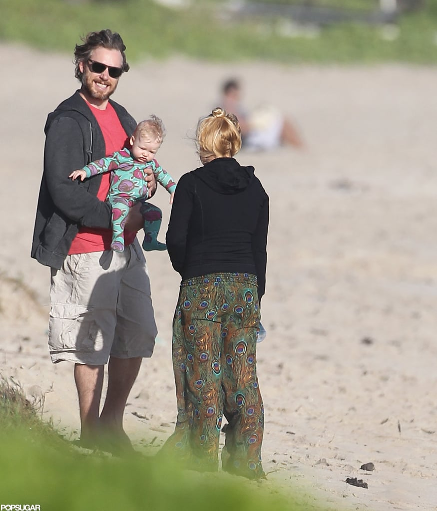 Jessica Simpson hung out in Oahu with Eric Johnson and their daughter, Maxwell Johnson.