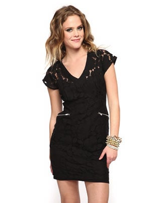 Forever 21 Zippered Lace Dress ($28)