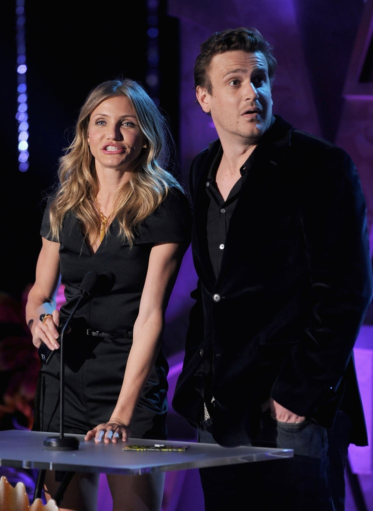 Cameron Diaz and Jason Segel presented an award together during the 2011 show.
