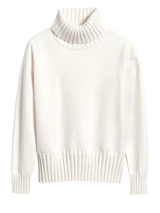 Chunky Turtleneck Sweater