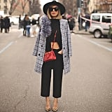 As For Outerwear, Cover Up Your Jacket With a Long Wool Coat