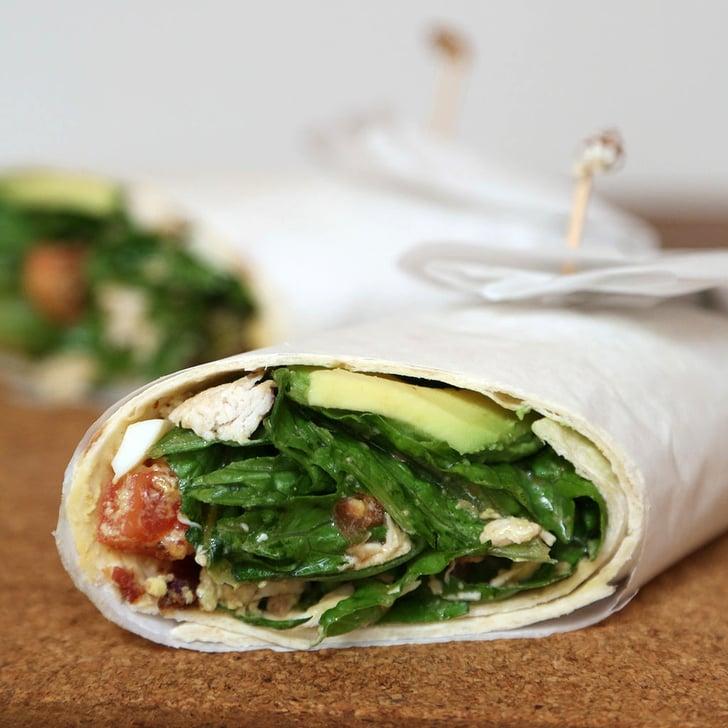 Cobb salad wrap easy work lunch recipes popsugar food for Gazelle cuisine n 13