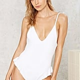Nasty Gal Nadia Ruffle Swimsuit ($78)