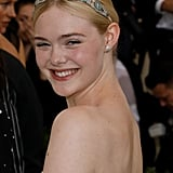 When Elle Fanning Looked like a Princess in a Matching Headband