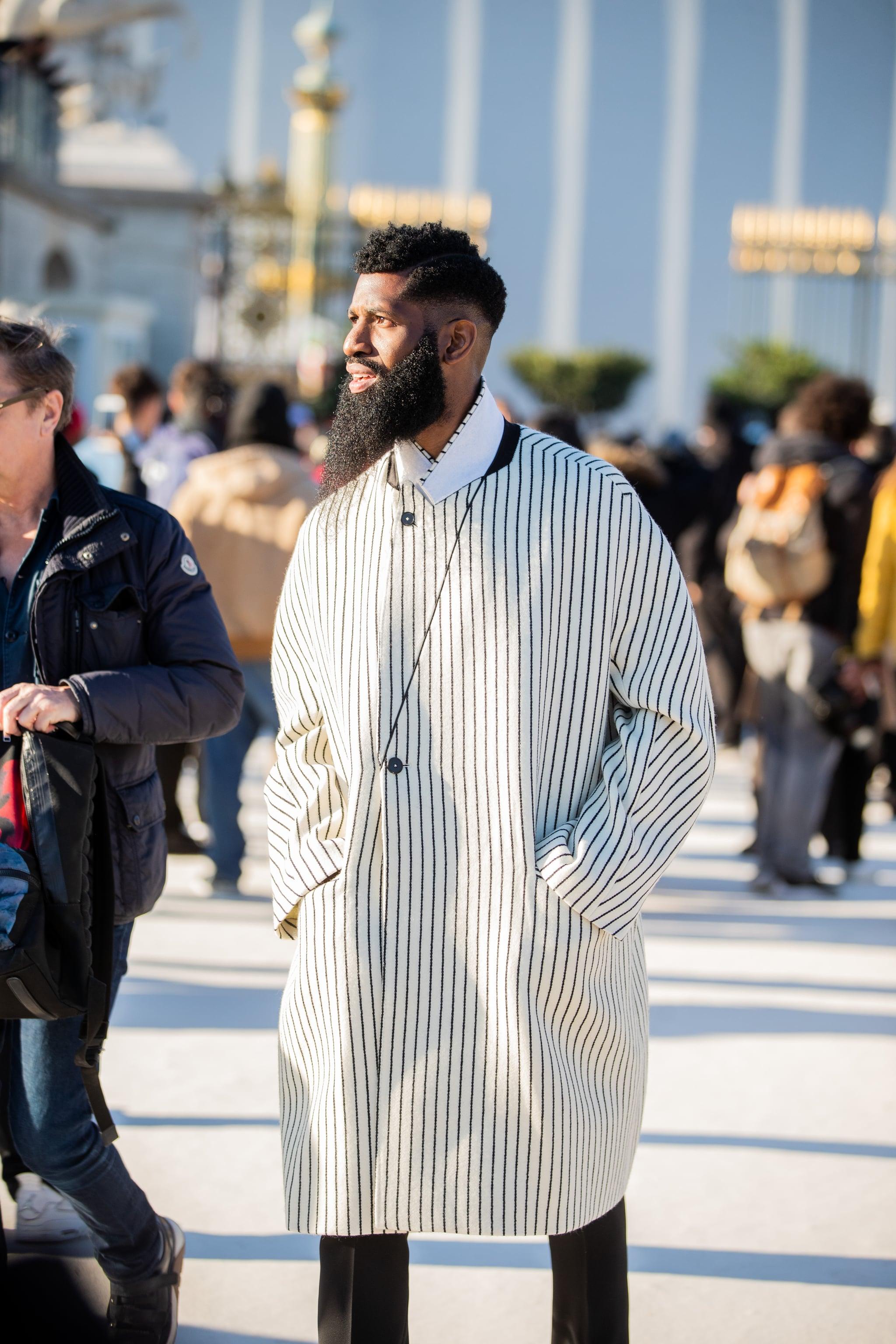 The Best Street Style At Men S Paris Fashion Week Fall 2020 Popsugar Fashion