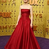 Joey King's Red Zac Posen Emmys Dress Came With a Bow