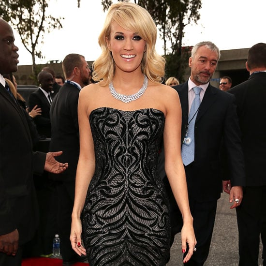 Carrie Underwood | Grammys 2013 Red Carpet Dress