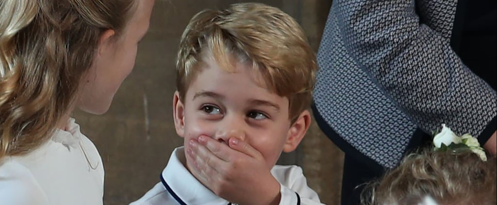 Best Pictures of Prince George at Princess Eugenie's Wedding
