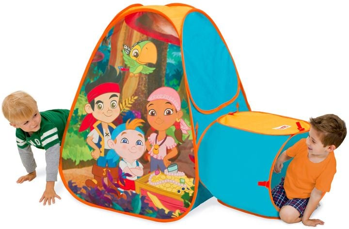 Disney Jake and the Never Land Pirates Hide About Play Tent with Tunnel