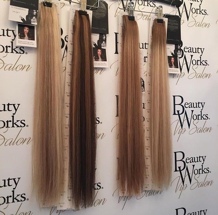 Beauty Works X Jen Atkins Hair Extensions Popsugar Beauty Middle East