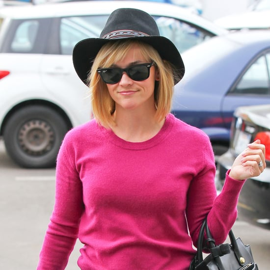 Reese Witherspoon's New Bangs 2014