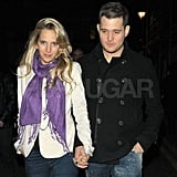 Michael Bublé and Luisana Lopilato out in London.