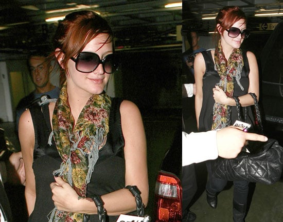 Photos of Ashlee Simpson at the Doctor's Office in LA