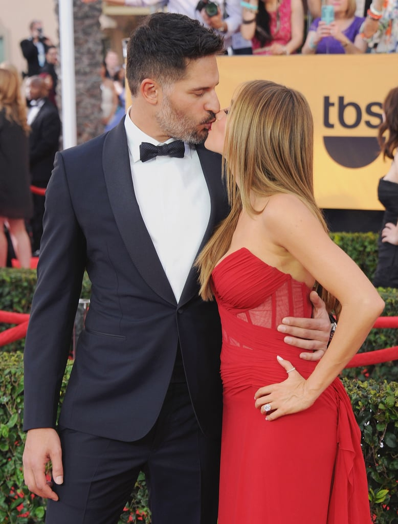In 2015, Sofia Vergara and Joe Manganiello shared a sweet kiss on the red carpet.